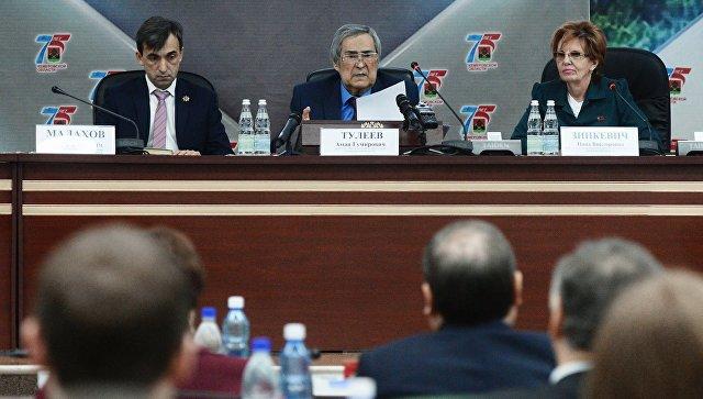 Тулеев прокомментировал избрание спикером парламента Кемеровской области