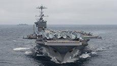 Американский авианосец USS Harry Truman. Архивное фото