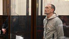Командир пожарного звена Сергей Генин, обвиняемый в халатных действиях во время тушения пожара в ТЦ Зимняя вишня в Кемерово. Архивное фото