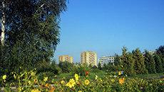 Вид на город Дубна. Архивное фото