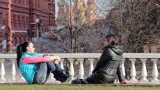 Весна в Москве. Архивное фото