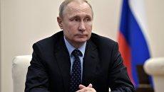 Владимир Путин проводит совещание по экономическим вопросам. 15 апреля 2018