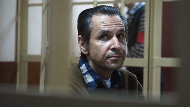Борис Гриц на заседании суда. 18 апреля 2018