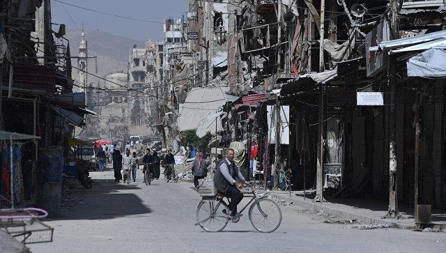 Сирия проинформировала РФ две неразорвавшиеся впроцессе удара США ракеты