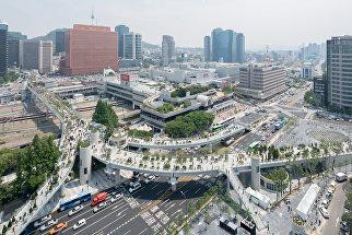 Парк в Сеуле Seoullo