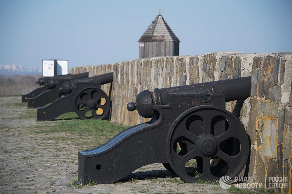 Азовская крепость в Ростовской области