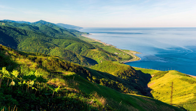 Остров Сахалин. Татарский пролив
