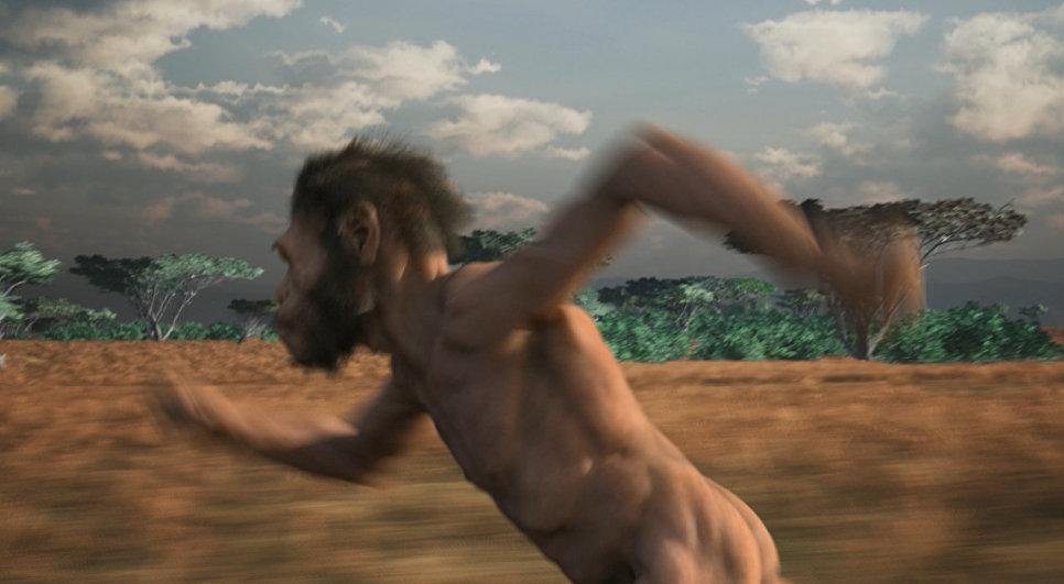 Кадр из мультфильма Homo naledi: Встреча двух миров