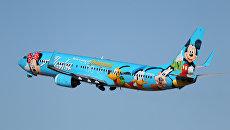 Самолет авиакомпании Alaska Airlines