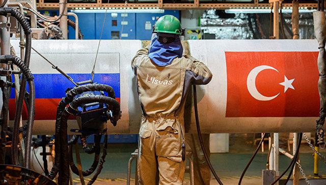 «Газпром» подписал документы опродлении «Турецкого потока» доЕС