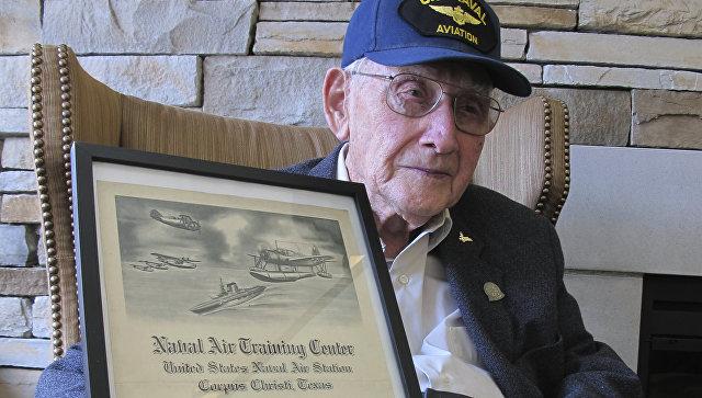 96-летний ветеран получил диплом университета вСША