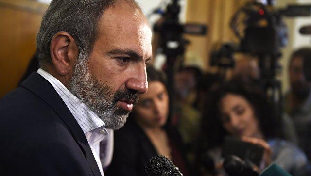 Пашинян был выдвинут напост премьера Армении на особом совещании парламента