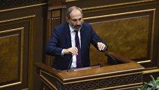 Кандидат в премьер-министры, лидер партии Елк Никол Пашинян
