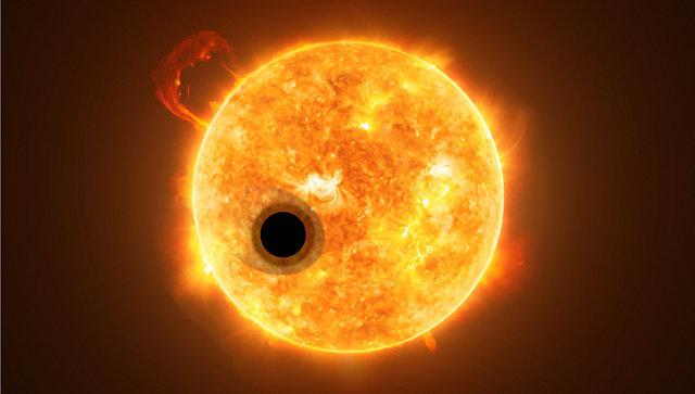 Ученые обнаружили гелий ватмосфере экзопланеты