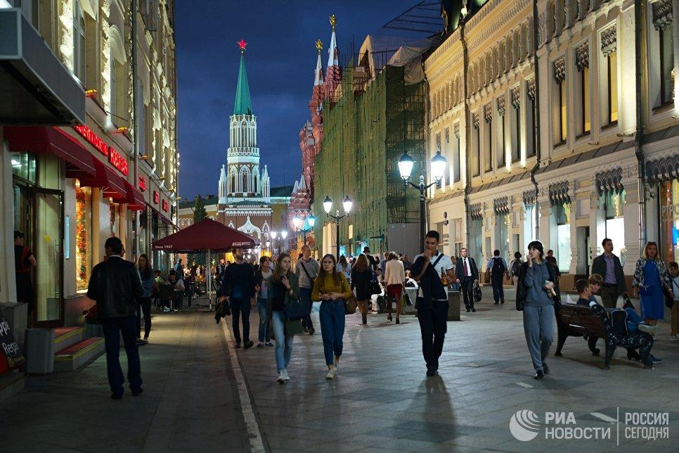 Самая старая улица Москвы — Никольская