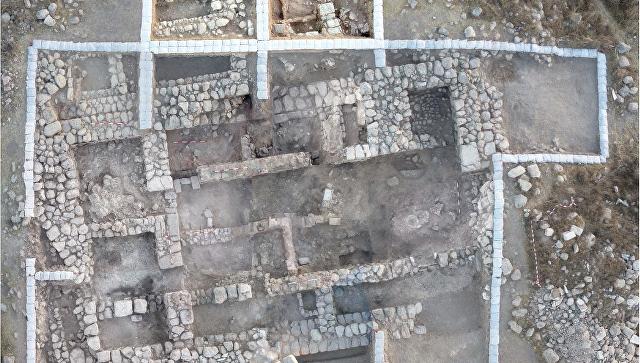 Дом правителя города Тель-Этон, построенный предположительно во времена царя Давида