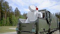 Боевой лазерный комплекс Пересвет в боевом положении. Архивное фото