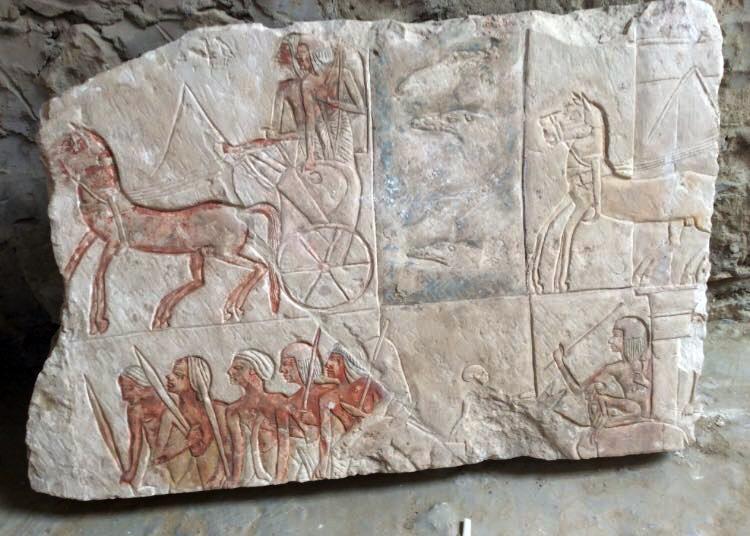 Вегипетской Саккаре найдена гробница старинного египетского генерала