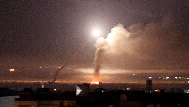 ПВО Сирии сбили большую часть израильских ракет