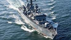 СМИ: российский фрегат играет в кошки-мышки с американским авианосцем