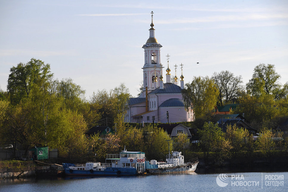 Храм Вознесения Господня в городе Кимры Тверской области