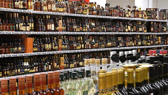 Отдел алкогольной продукции. Архивное фото