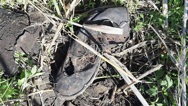 Личные вещи бойцов ВСУ, найденные в Днепропетровской области