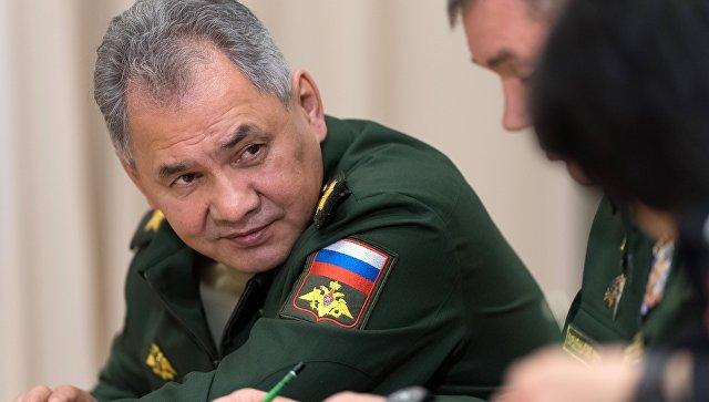 ИО министра обороны РФ Сергей Шойгу