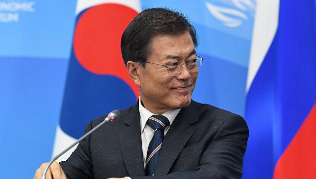 Президент Республики Кореи Мун Чжэ Ин. Архивное фото