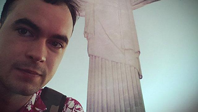 Сергей Лелеков в Рио-де-Жанейро во время первой поездки