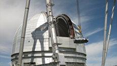 На телескоп в горах КЧР монтируют модернизированное Швабе главное зеркало