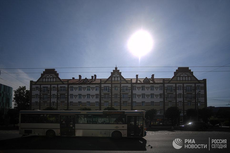 Хрущевка на проспекте Победы в Калининграде