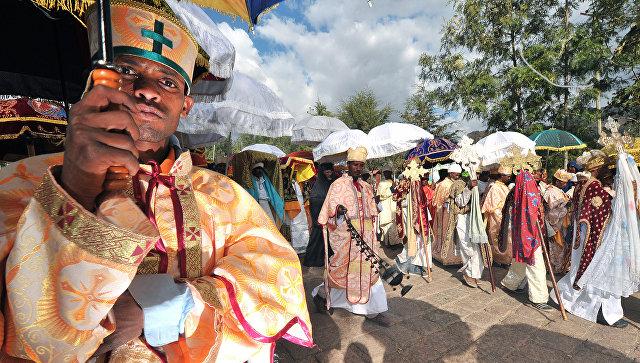 Эфиопские священники и монахи