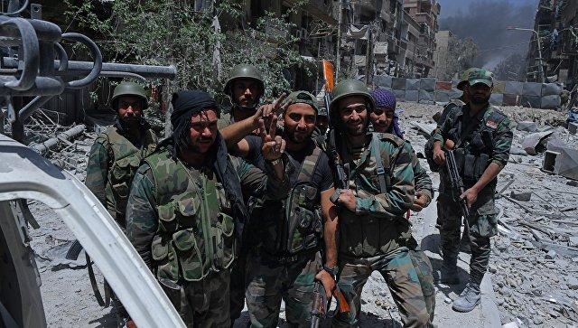 Сирийская армия освободила от ИГ территорию на границе с Ираком