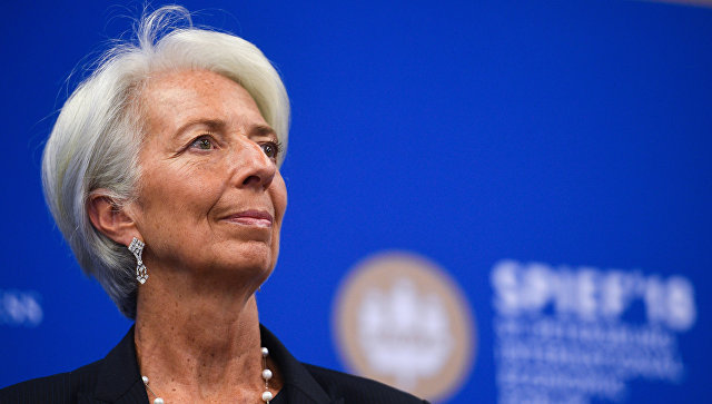 Директор–распорядитель МВФ Кристин Лагард. Архивное фото