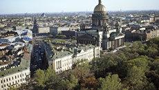 Исаакиевская площадь. Вид сверху.
