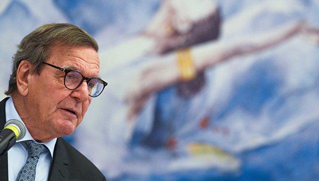 Шрёдер рассчитывает, чтоЕС защитит «Северный поток— 2» вопреки давлению США