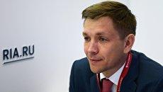 Министр цифрового развития, связи и массовых коммуникаций РФ Константин Носков. Май 2018