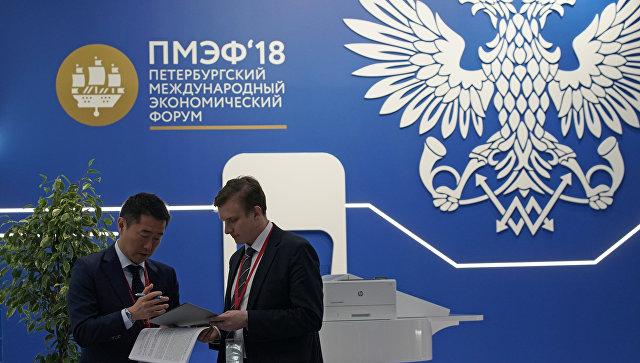 Петербургский международный экономический форум 2018. Архивное фото