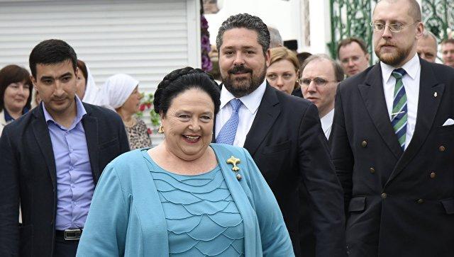 Великая княгиня Мария Романова и цесаревич Георгий Романов в Евпатории. 16 мая 2016