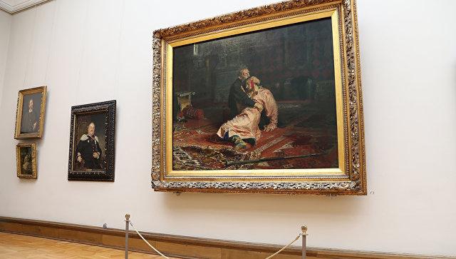 Реставратор оценил шансы восстановить поврежденную картину Репина
