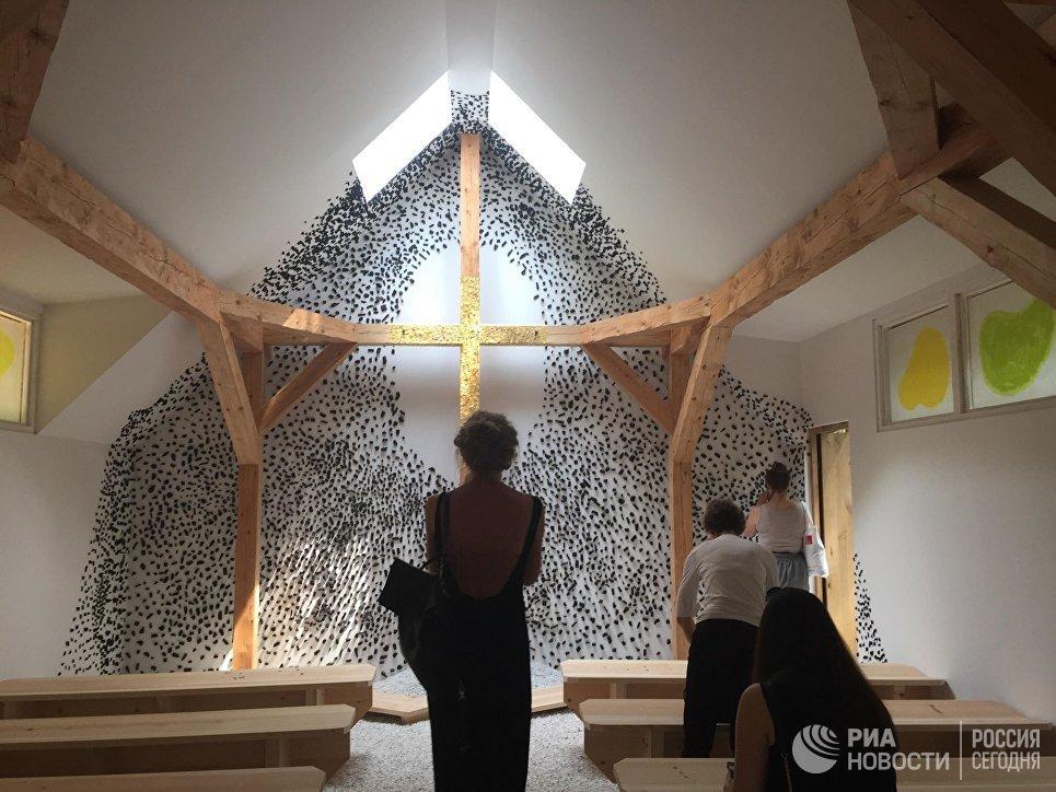Один из проектов в павильоне Ватикана