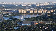 Застройка в районе канала имени Москвы