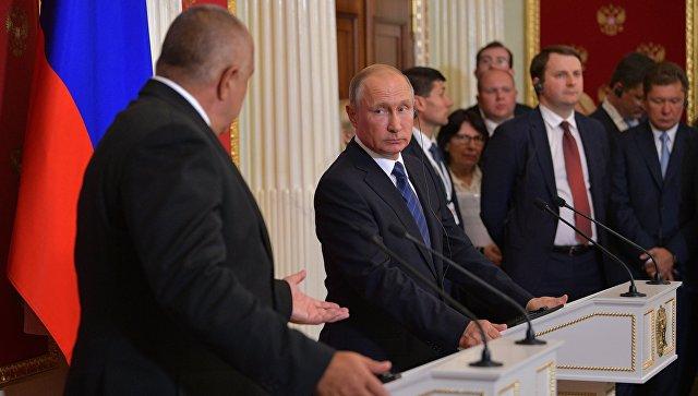 Путин назвал потери «Газпрома» отсрыва проекта «Южный поток»