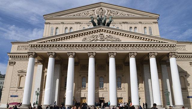 Здание Государственного академического Большого театра России в Москве. Архивное фото