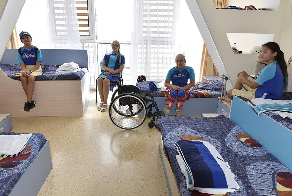 Дети в номере кампуса МДЦ Артек