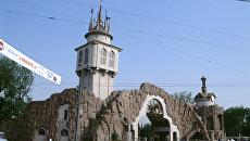 Главный вход в Московский зоопарк. Архивное фото