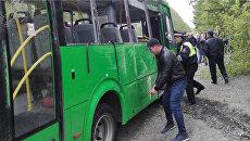 ДТП с участием пассажирского автобуса в Екатеринбурге. 4 июня 2018