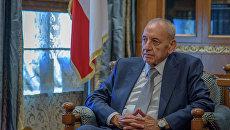 Спикер парламента Ливана Набих Берри. Архивное фото