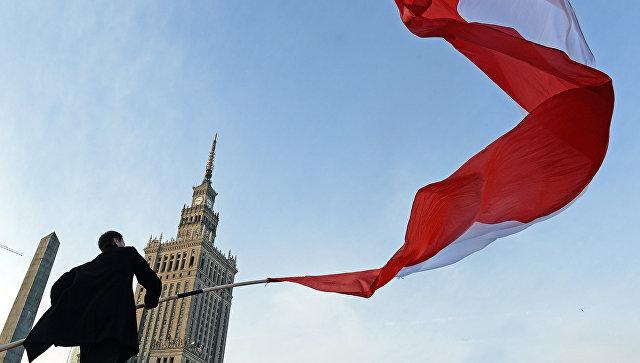 """В Варшаве около посольства Украины проходит """"антибандеровская"""" акция"""